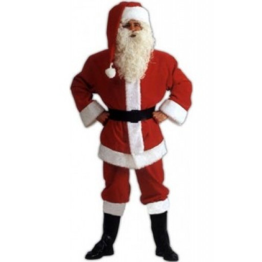 Père Noël Américain - location de déguisement adulte