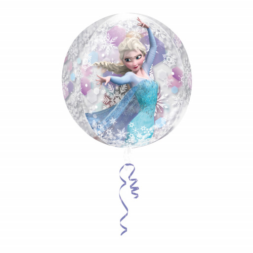 Ballon La Reine des Neiges © Clear Orbz™ - 38 X 40cm