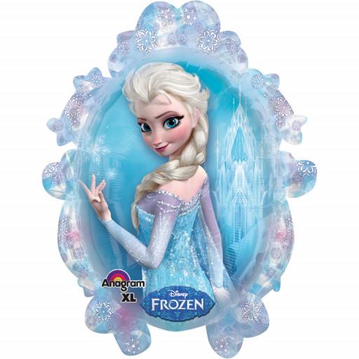 Ballon La Reine des Neiges© Elsa Supershape™ XL - 63 X 78cm