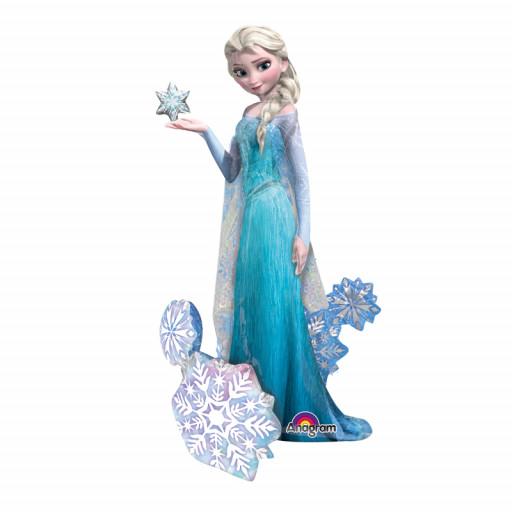 Ballon La Reine des Neiges© Elsa Airwalkers® 88cm H 144cm