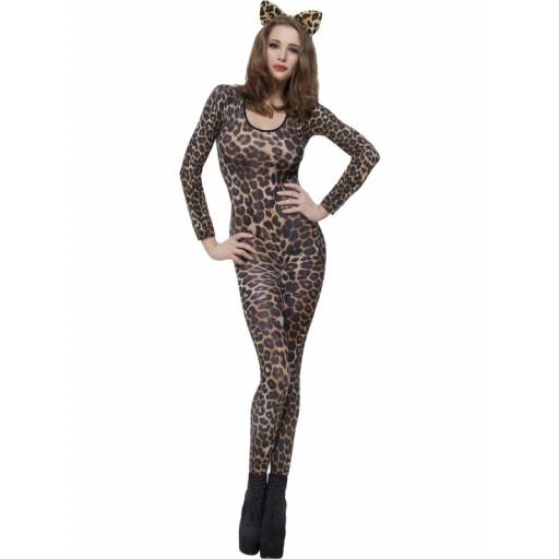 Justaucorps Leopard Brun/Noir Taille Unique