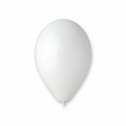 Sachet de 50 Ballons Standard Blanc Diam 30Cm Cir 105Cm -01