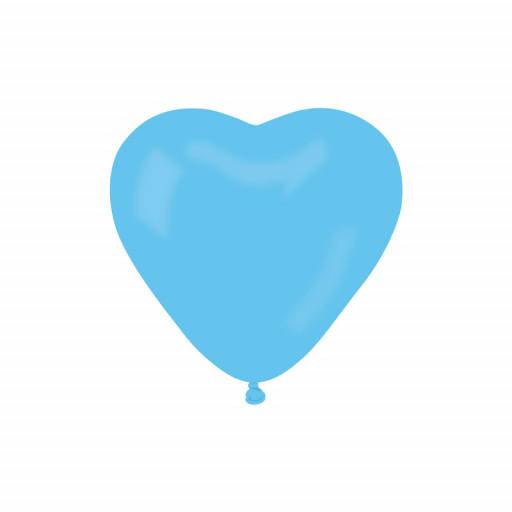 Ballon Cœur géant Lagon 170Cm Environ Diam 54cm -09