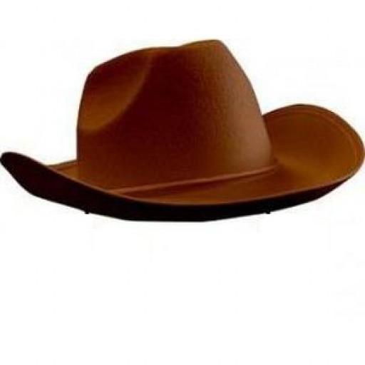 Location chapeau Cowboy marron