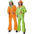 Disco Homme Flash Orange Ou Vert - déguisement adulte à louer