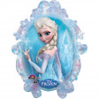 Ballon La Reine des Neiges© Elsa Supershape™ XL - 63 X 78cm