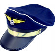 Casquette Pilote Bleue - Réglable