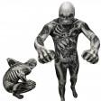"""Déguisement seconde peau ™ Monstre Squelette """"Skull And Bones"""" Taille L"""