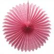 Éventail Papier 50cm Rose