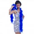 Boa Plumes Env 180cm - 50 Grs Env Bleu
