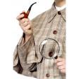Kit Sherlock Holmes avec Pipe et Loupe