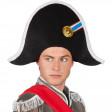 Chapeau Napoléon Feutrine avec Cocarde
