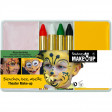 Set Fard + Crayons + Demaquillant Animal de La Nature