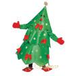 Sapin de Noël - déguisement adulte à louer