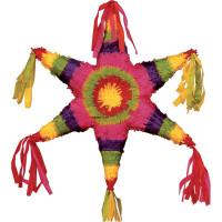 Pinata Étoile Mexicaine 55X55X0cm (Vendu Sans Baton) 123DEG-3700638223884-10018859