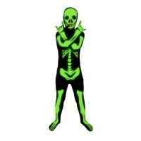 """Déguisement seconde peau ™ Enfant Squelette """"Glow In The Dark"""" Taille L 123DEG-816804018437-10014258"""