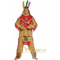 Black Bull, costume traditionnel indien - costume adulte à louer DGZL-100117 de Non