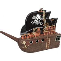Pinata Bateau de Pirate 45cm (Vendu Sans Baton) 123DEG-11179662692-10018847