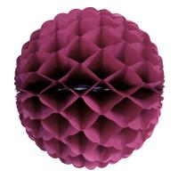 Boule Alveolee 32Cm Bordeaux 123DEG-3700638222115-10018452