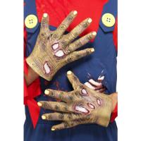 Gants Latex Mains Zombie Blesse 123DEG-5020570955864-9-10025418