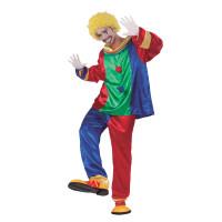 Déguisement Clown Homme Taille M 123DEG-8423667099521-10013584 de Non