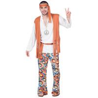 Déguisement Hippie Homme Taille M 123DEG-8423667056951-10014221 de Non