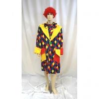 Clown Manteau Losange - location de déguisement adulte DGZL-100412 de Non