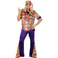 Déguisement Hippie Homme Velours M 123DEG-8003558733026-10013735