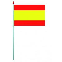 Sachet de 10 Drapeaux Plastique 9.5 X 16cm Espagne 123DEG-3700638216220-10016631