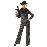 Déguisement Femme Gangster Taille L 123DEG-19519019076-10014111