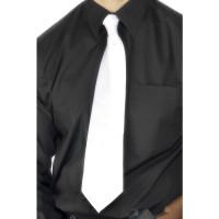 Cravate Blanche Polyester Luxe 123DEG-5020570228692-9-10024333