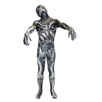 """Déguisement seconde peau ™ Enfant Monstre Squelette """"Skull And Bones"""" T 123DEG-887513013099-10014253"""