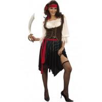 Piratesse Des Caraïbes - costume adulte à louer DGZL-100211 de Non