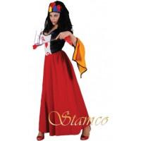 Reine De Coeur - location de costume adulte DGZL-100014 de Non