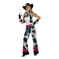 Déguisement Cow-Girl Glamour - Taille Unique 123DEG-721773633201-10014286