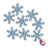 Confettis Flocons Argent 18Mm - 14 G 123DEG-3700638226144-10011992
