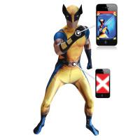 Déguisement seconde peau ™ Wolverine Digital Taille L 123DEG-887513005827-10014466
