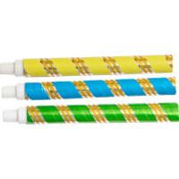 Sarbacane métallisée 18cm Securite Couleurs Assorties 123DEG-3700638200960-10011769
