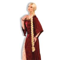Perruque Princesse avec Longue Tresse Blonde 123DEG-721773584558-10022556
