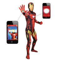 Déguisement seconde peau ™ Iron Man Digital Taille XL 123DEG-887513006190-10014459