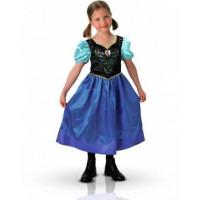 Robe enfant Anna La Reine des Neiges - déguisement enfant à louer  DGZL-200229 de Non