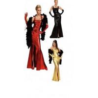 Robe Cocktail stretch - déguisement adulte à louer  DGZL-200363 de Non