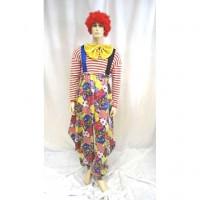 Clown Fagiolino - costume adulte à louer DGZL-100409 de Non
