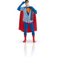 Déguisement Licence Seconde Peau Superman Taille M 123DEG-883028052066-10013806