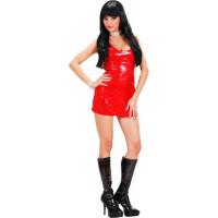 Disco Fever Rouge Paillettes Taille M 123DEG-8003558740826-10013789