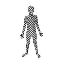 Déguisement seconde peau ™ Enfant Damier Taille M 123DEG-887513003533-10014263