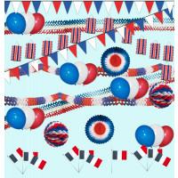 Kit Deco de fête spécial France Gm 123DEG-3700638224164-10018495 de Non