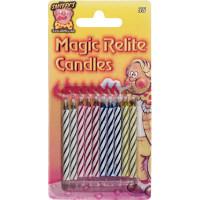 Bougies Magiques - Carte de 10 (12) ** Pas en Dessous 16 Ans** 123DEG-5022103000355-10001584