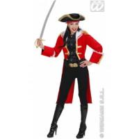 Capitaine Anne Bonny Rouge - location de costume adulte DGZL-100356 de Non