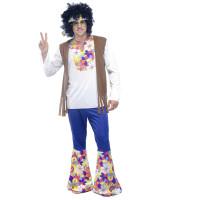 Déguisement Homme Hippy Taille 54/56 123DEG-3700638228896-10015667